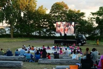 June/July: Movies Under the Stars Series