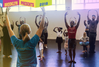 Family Dance Class with Mark Morris Dance Group