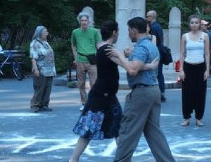 Strictly Tango at Washington Square Park