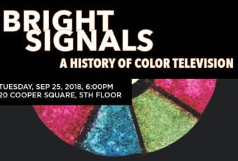 September 25: Bright Signals: A History of Color Television