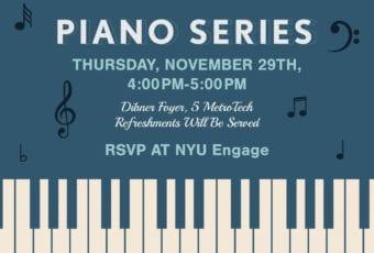 November 29: Piano Series