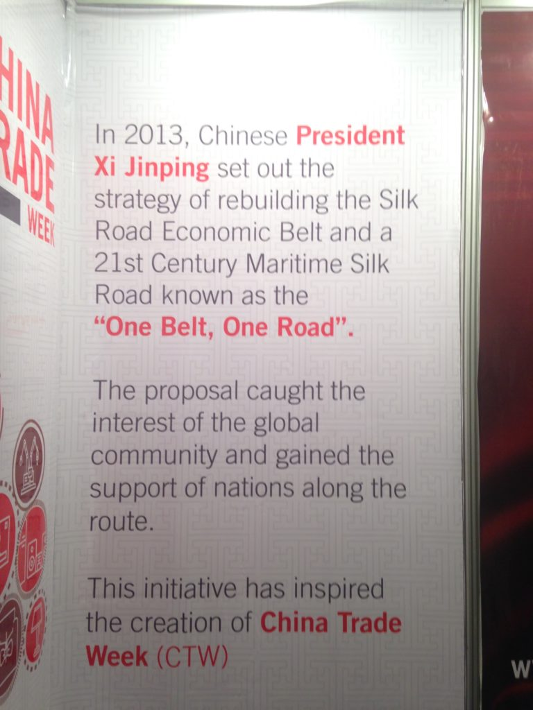 Pamphlet on China Trade Week