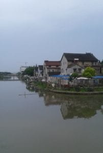 houses next to water