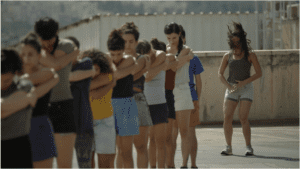 Still image from Time to Lose video