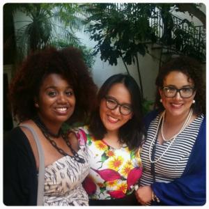 From Left: Nohelia Diplan, Marsha Ho GLS 17', Monika Estrada Guzman