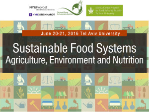 Sustainable Food Systems - Agriculture, Environment and Nutrition