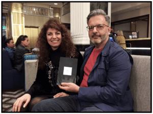 Ana Arzoumanian y Gabriel Amor en el New Yorker Hotel