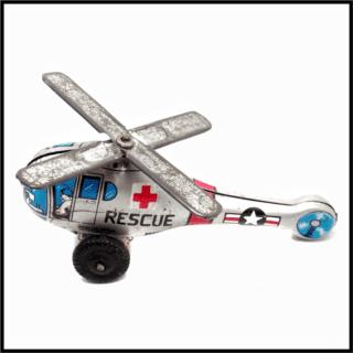 Helicóptero de hojalata