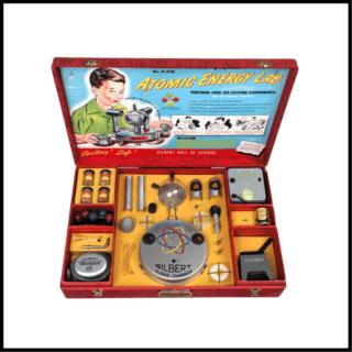 Juego científico vintage