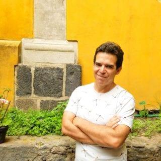 El escritor boliviano Edmundo Paz-Soldán.
