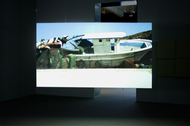 "From Isaac Julien ""Western Union, Small Boats."""
