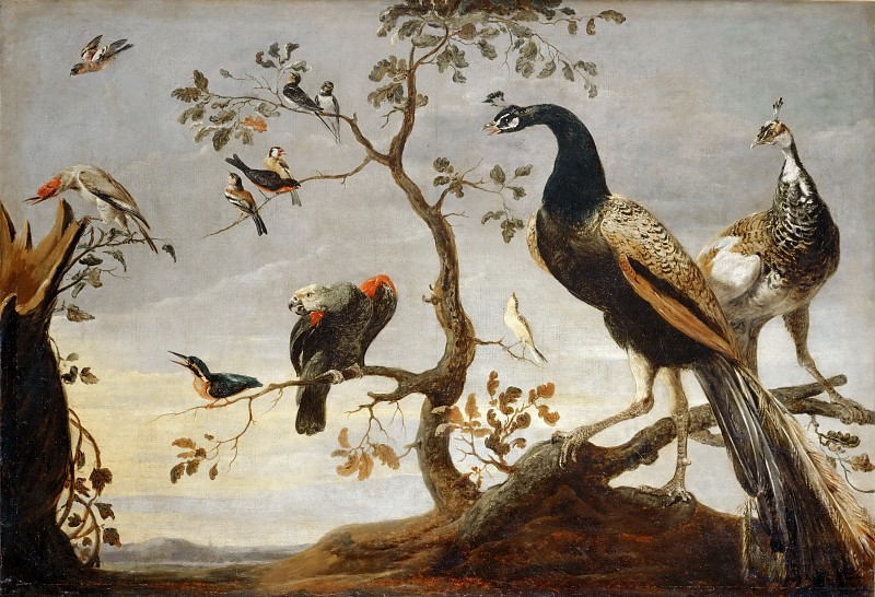 Frans Snyders Assembly of Birds (1630)