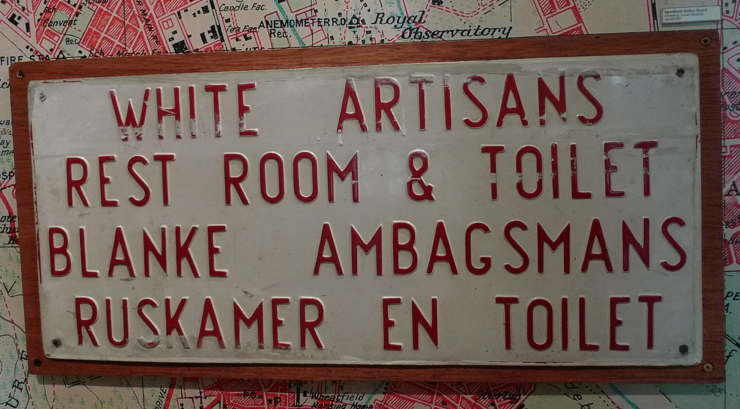 District Six Museum Cape Town Apartheid Sign