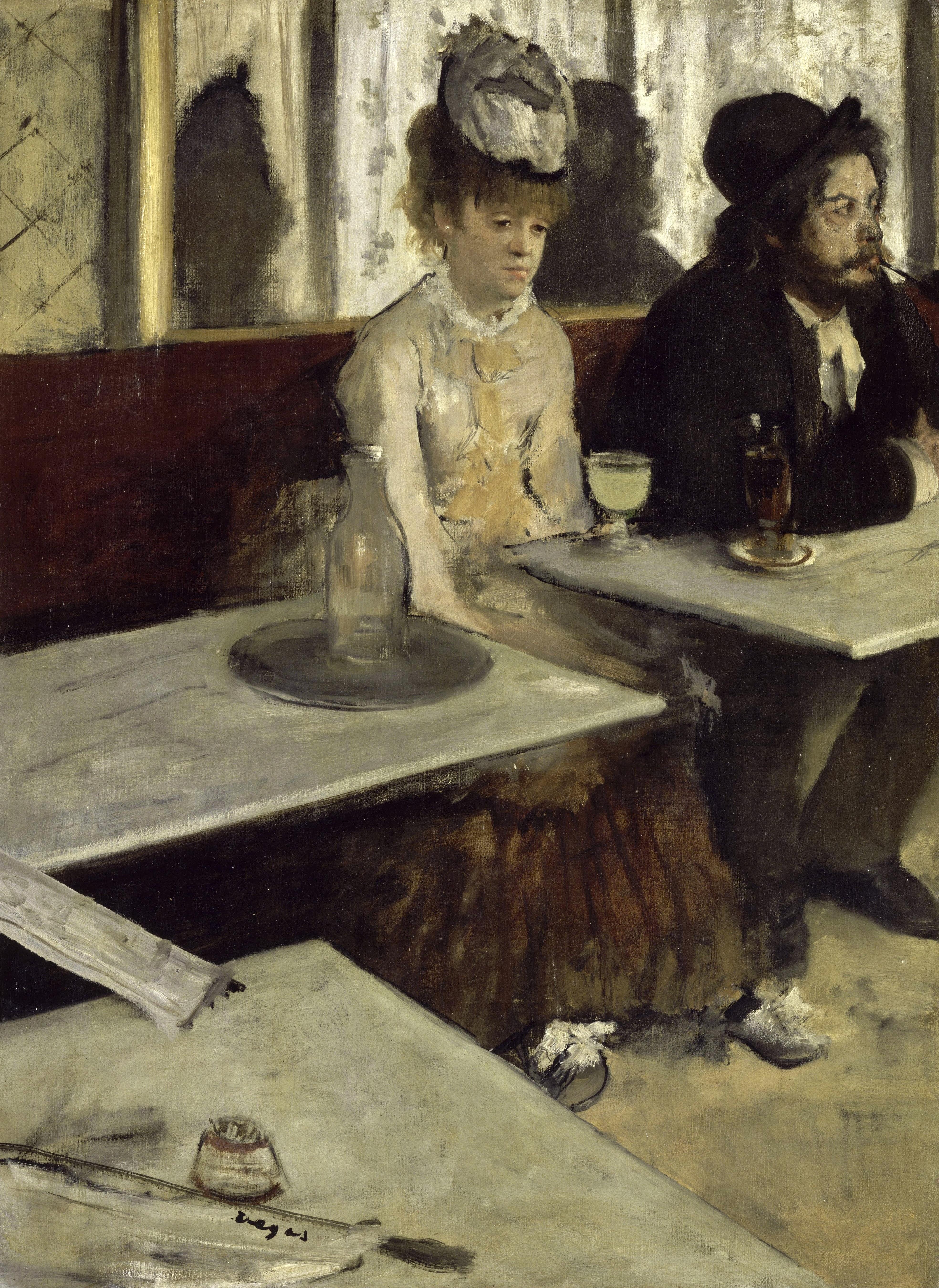 "Edgar Degas ""Absinthe"""