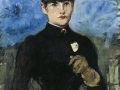 'The Amazon' by Edouard Manet