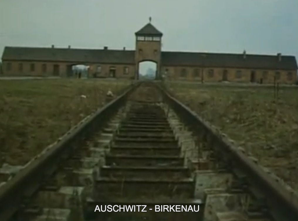 Train scene in Shoah