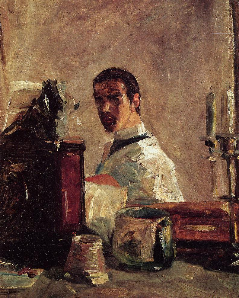Self Portrait in front of a Mirror, c. 1882-1883.jpeg