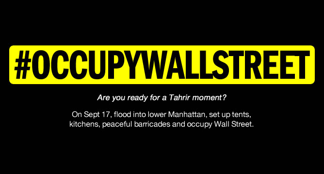"Adbusters ""Occupy Wall Street"""