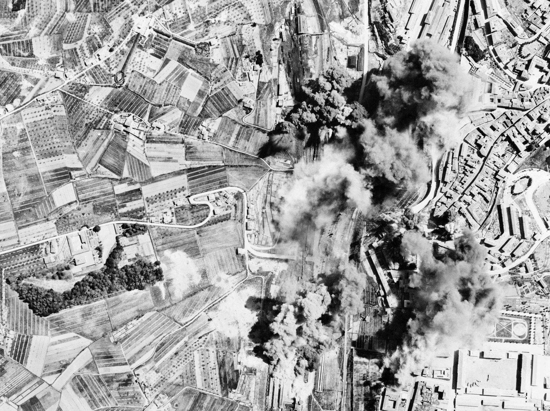 Bombing in Italy 1944