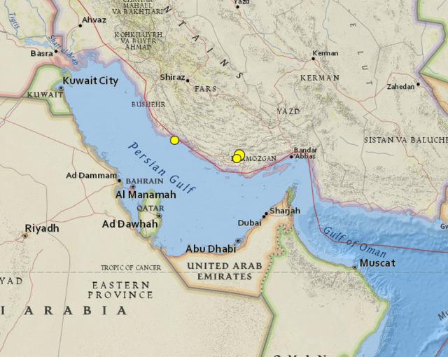 December. 6: Iranian Circulations, Emirati Conditions