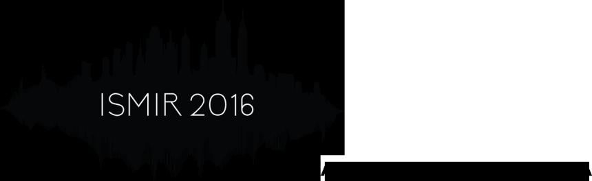 ISMIR 2016