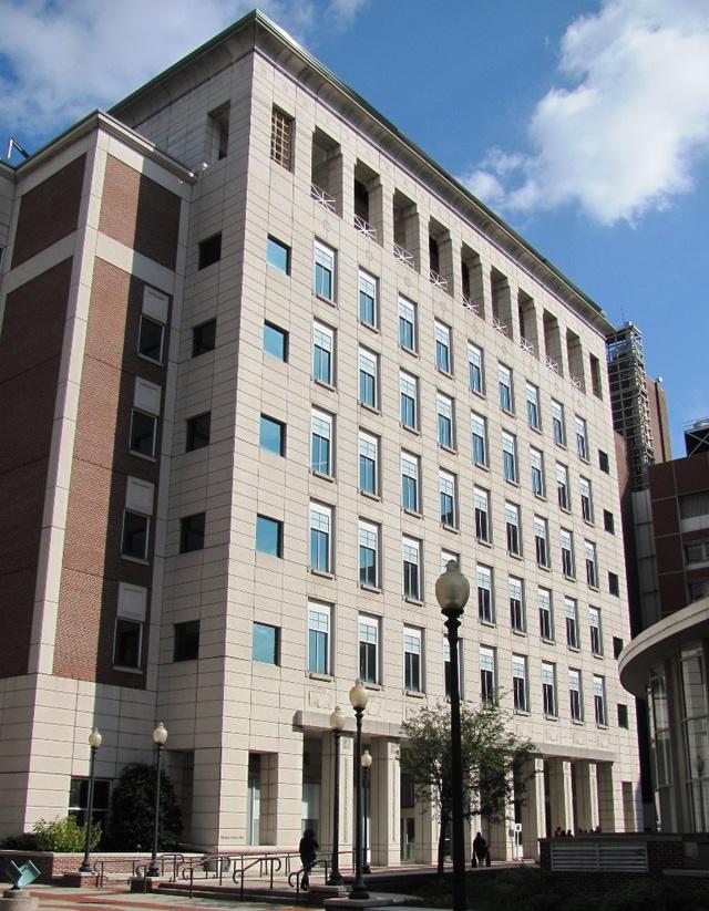 The Davis Auditorium is located at Columbia's Schapiro Center