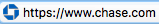 Image from a browser address bar showing https:// followed by www.chase.com, providing an example of what was detailed in the preceding paragraph.