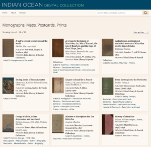 Indian Ocean Digital Collection