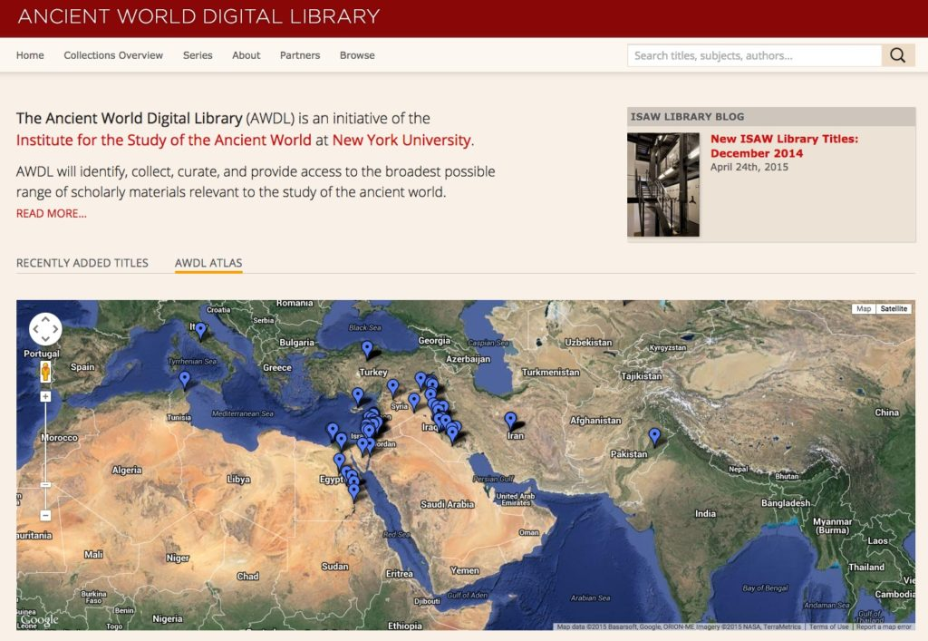 Ancient World Digital Library