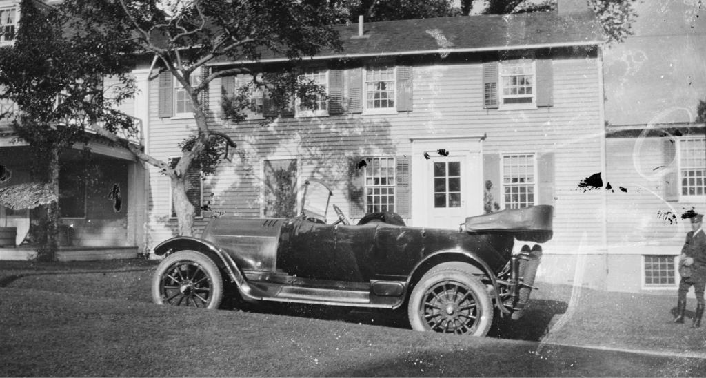 One of the Sylvester Manor nitrate negatives