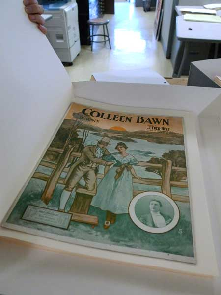 Colleen Bawn, from the Moloney Sheet Music collection