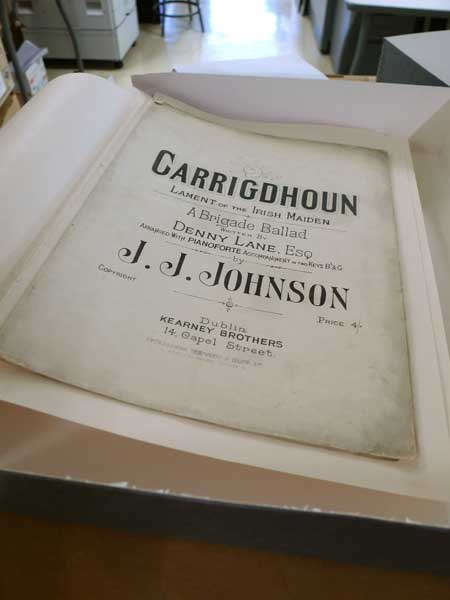 Carrigdhoun by J.J. Johnson, from the Moloney Sheet Music collection
