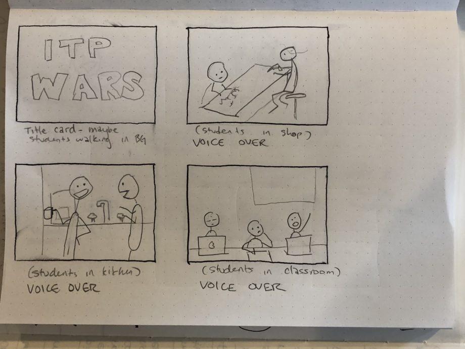 Video & Sound Week 4 – ITP WARS!