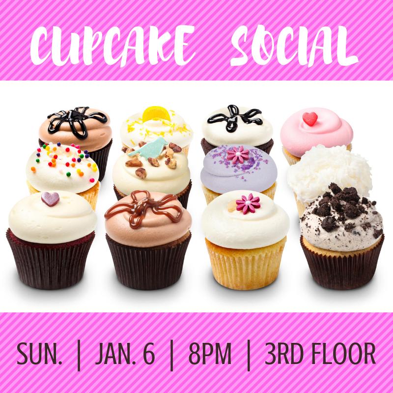Cupcake Social Flyer