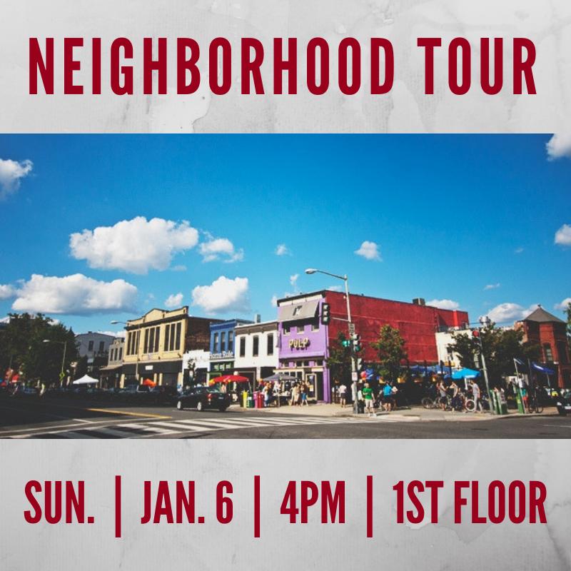 Neighborhood Tour Flyer