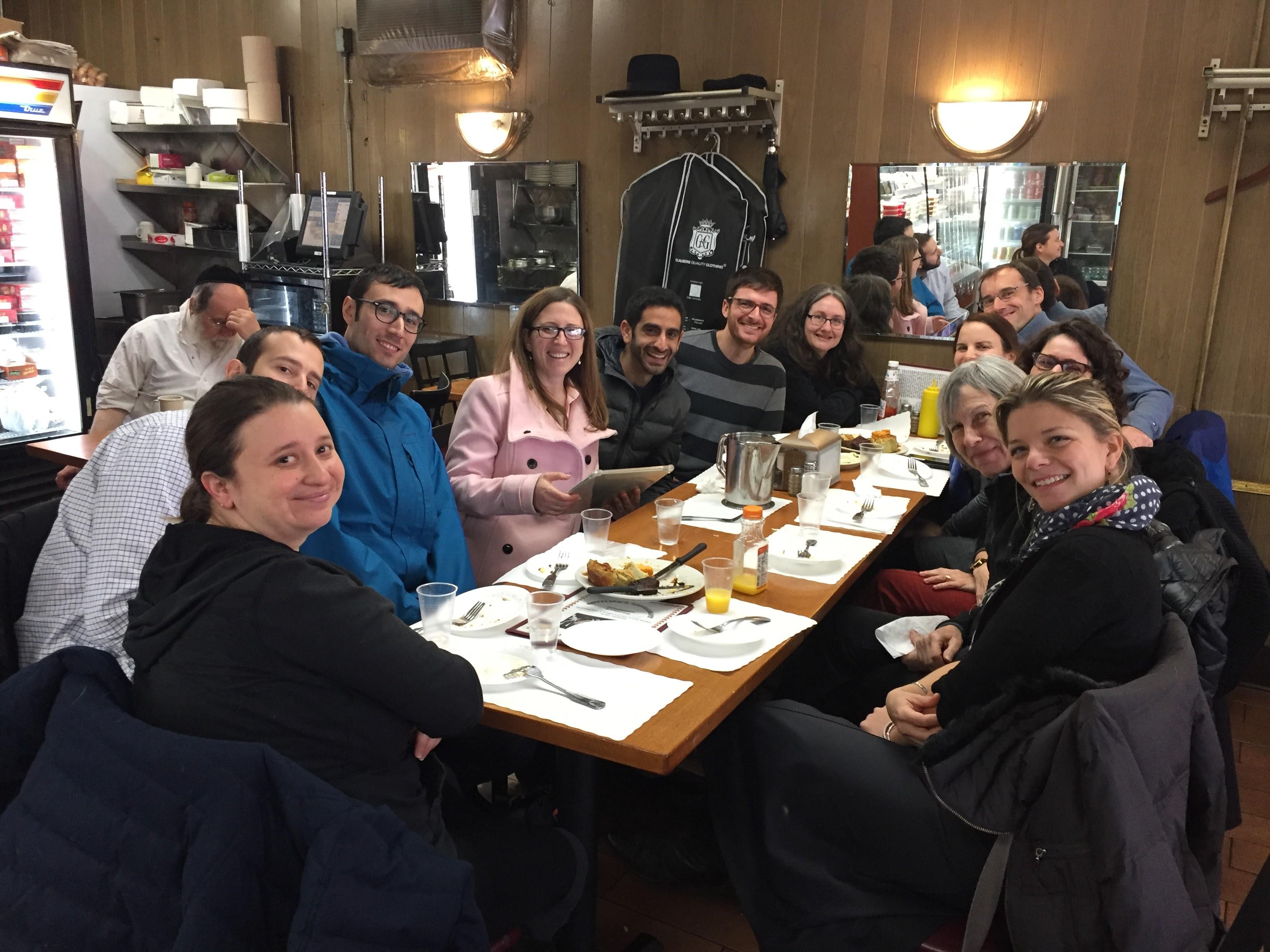 At Gottlieb's Restaurant
