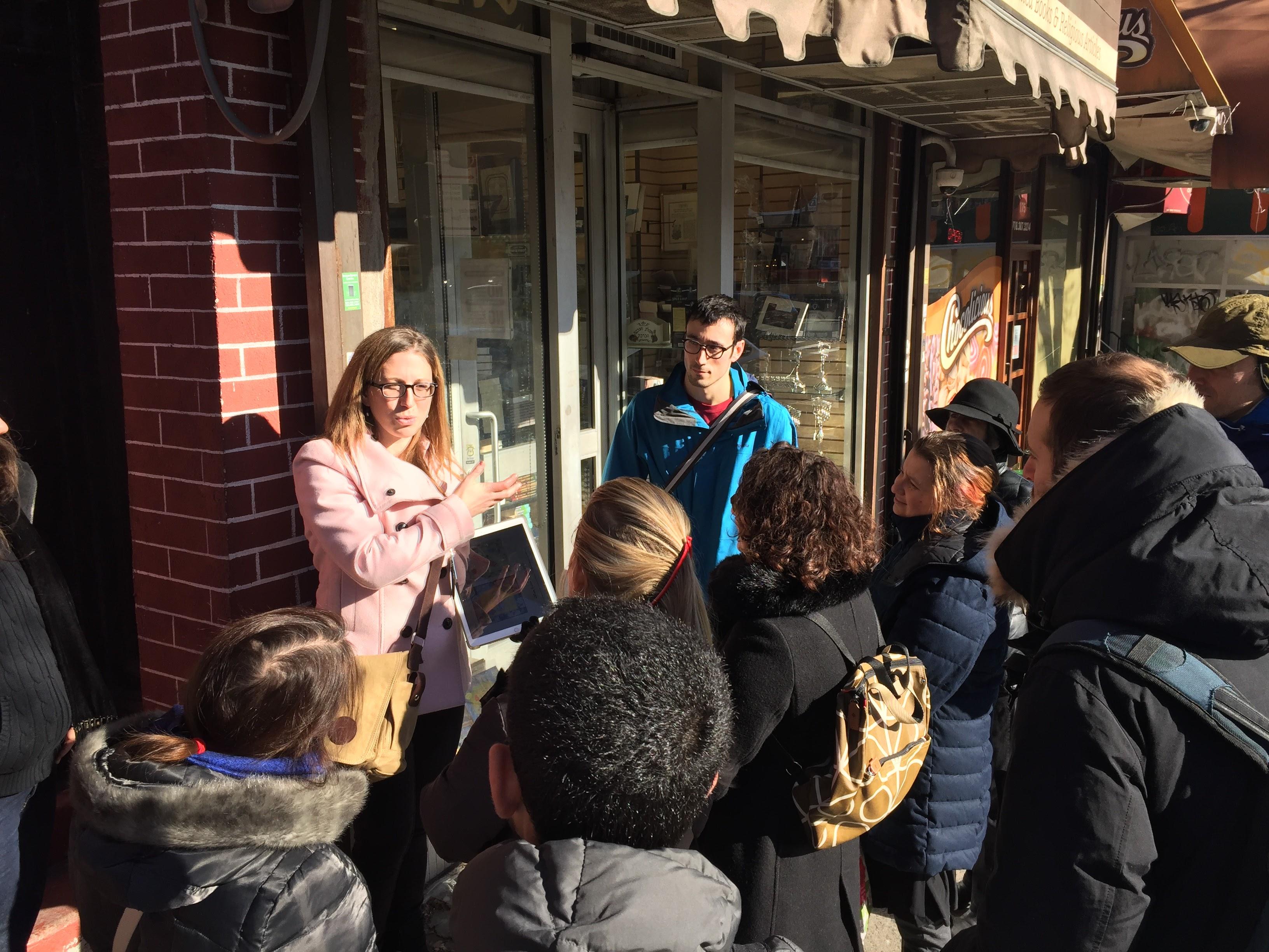 On a walking tour of Hasidic Williamsburg with Frieda Vizel