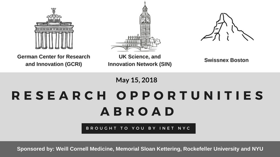 May 15 – INet NYC Opportunities Abroad Info-Session – The Ph D  Examiner