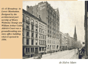 CALA Instructor Glen Umberger Publishes Article: The Story of Manhattan's Dutch Past Told in Bronze