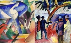Exhibition Opening at the Neue Galerie-  Franz Marc and August Macke: 1909–1914