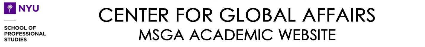 MSGA Academic Website