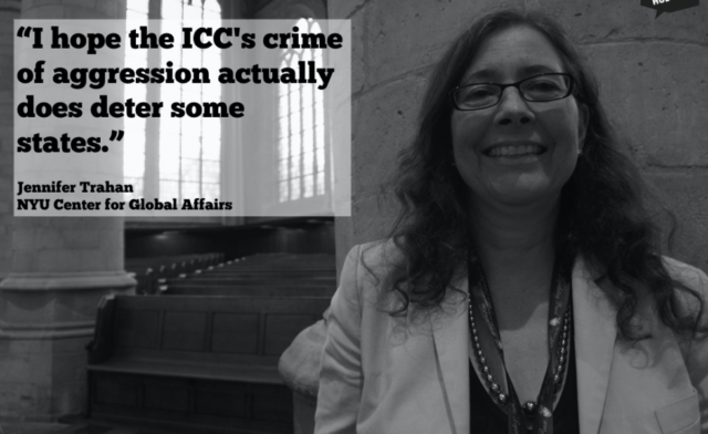 THE NEW ICC CRIME OF AGGRESSION COULD MAKE LEADERS THINK TWICE IF THEY ARE CONSIDERING INVADING