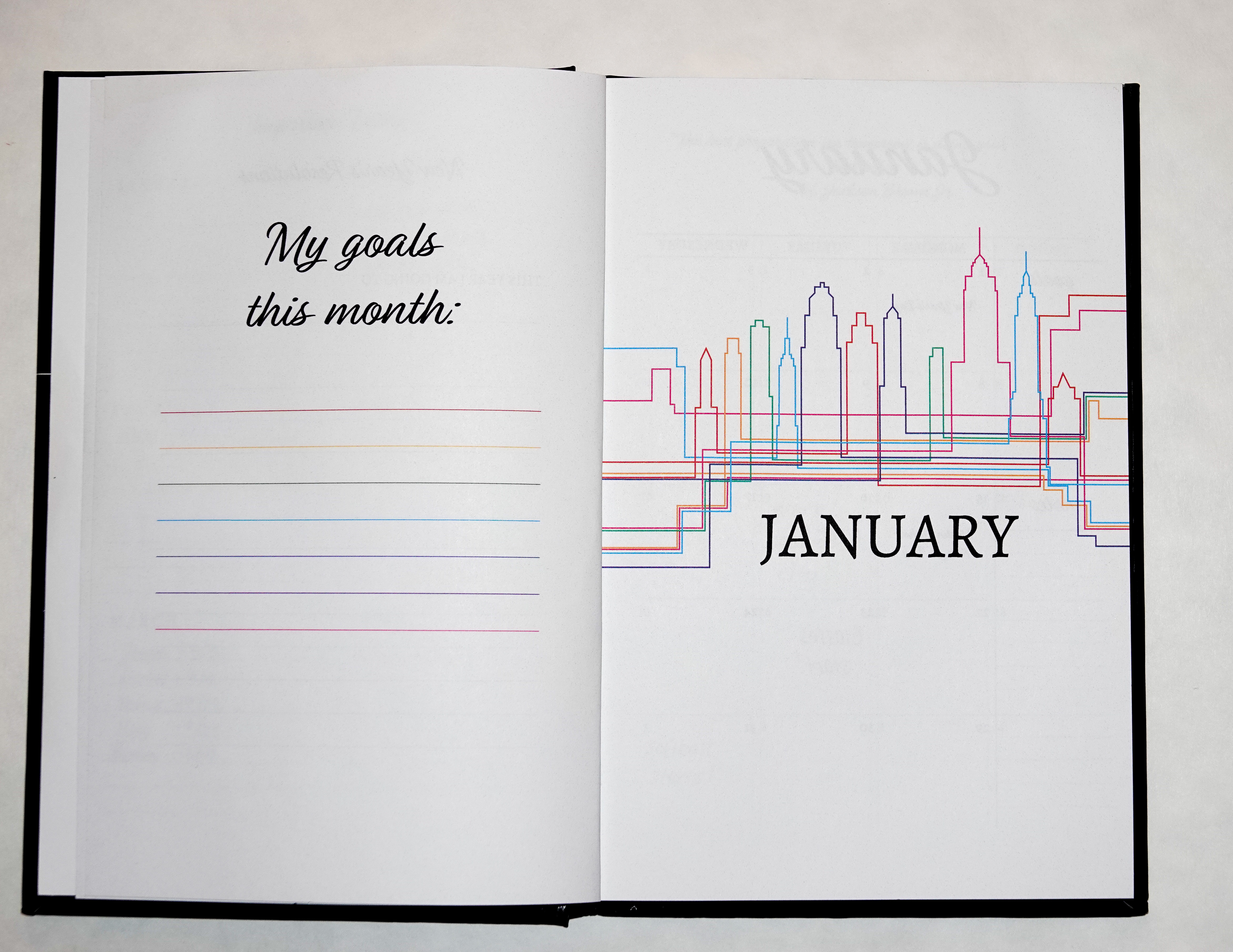 Indesign And Illustrator 6 Month Planner