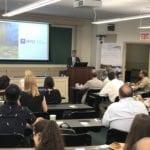 Cecil Scheib presenting keynote address