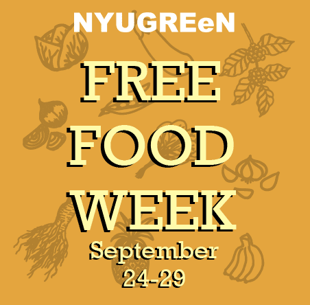 Free Food Week September 24-29