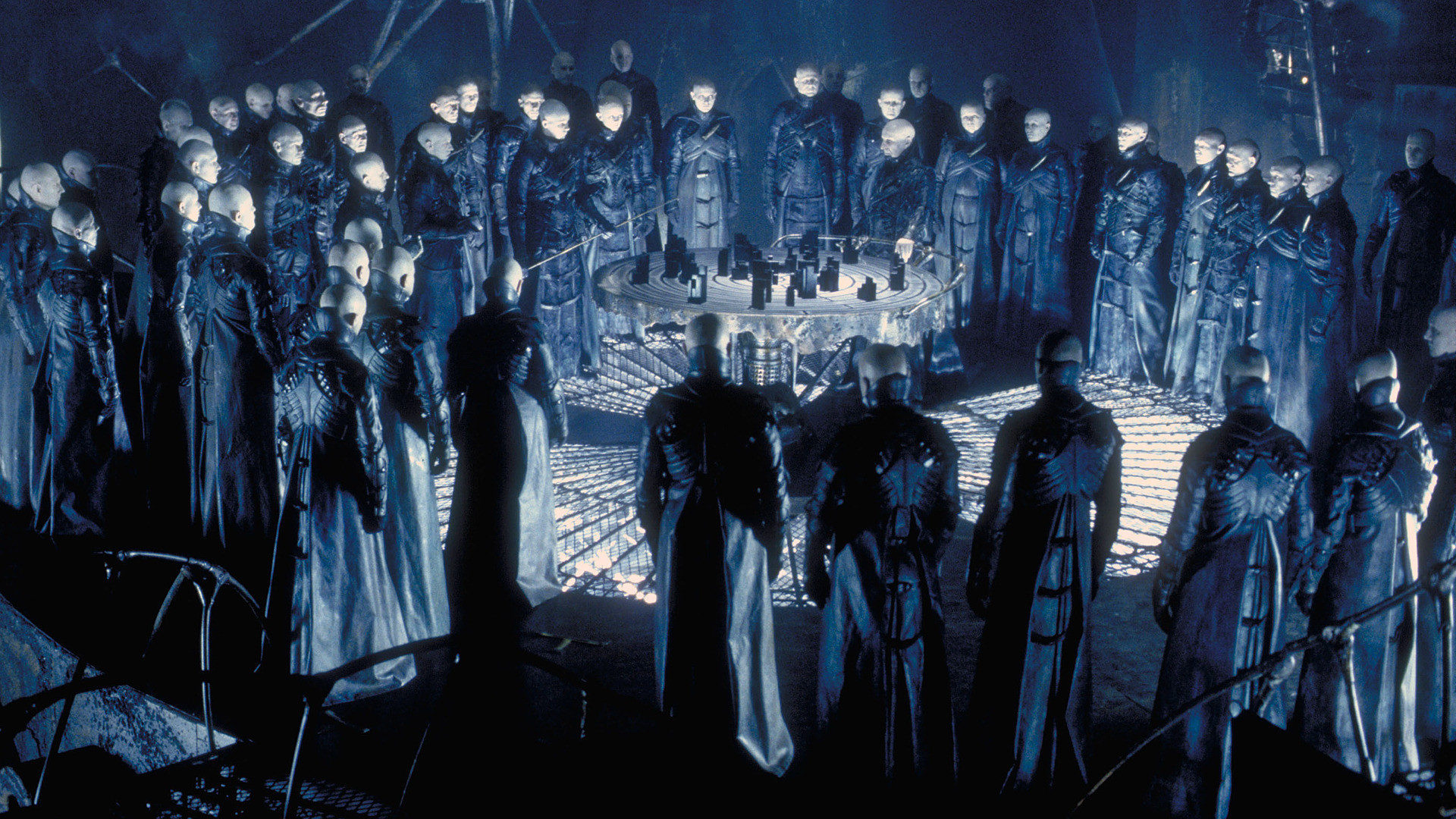 "A scene from ""Dark City"""