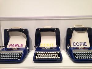 """Marcel Broodthaers, """"Parle Ecrit Copie"""" (1972–73)"""