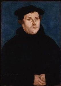 Lucas Cranach the Elder, Martin Luther - Deutsches Historisches Museum