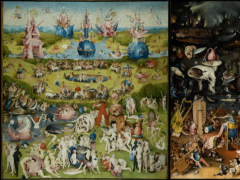 """The Garden of Earthly Delights"" by Hieronymous Bosch."