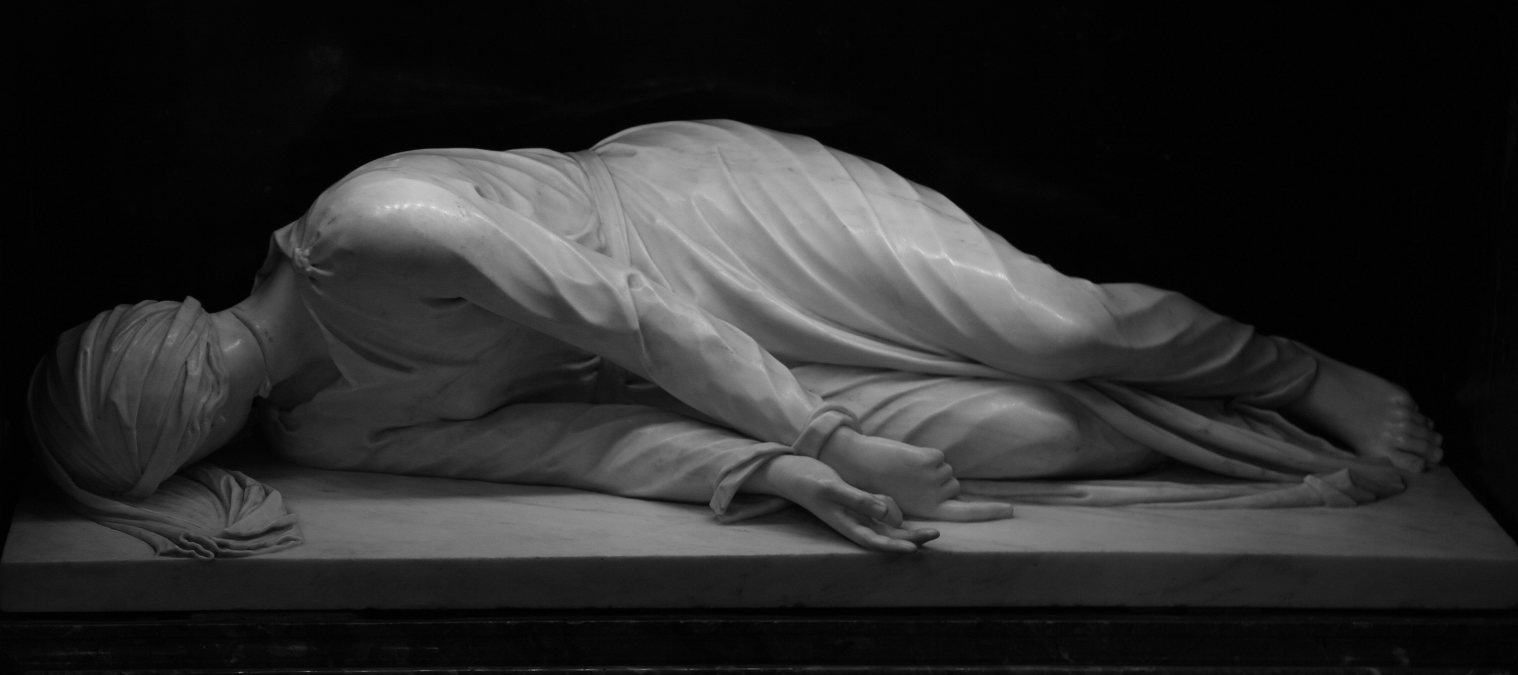 The Martyrdom of Saint Cecilia by Stefano Maderno